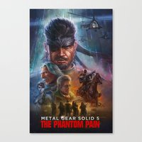 MGS: the poster edition  Canvas Print