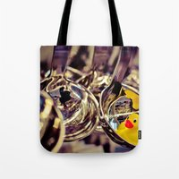 SPOON DUCK Tote Bag