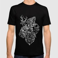 Urban Animals Mens Fitted Tee Black SMALL