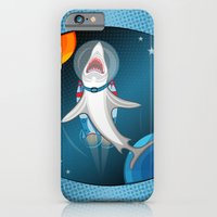 Shark In Space iPhone 6 Slim Case