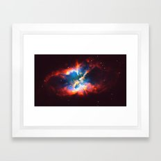 Space Confusion Framed Art Print