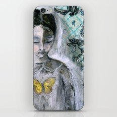 Vintage Book Cover Girl iPhone & iPod Skin