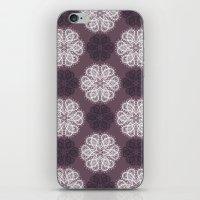 PAISLEYSCOPE Posh (purpl… iPhone & iPod Skin