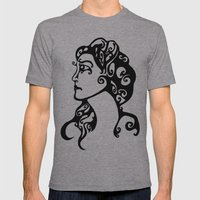 Gypsy Sorrow Mens Fitted Tee Athletic Grey SMALL