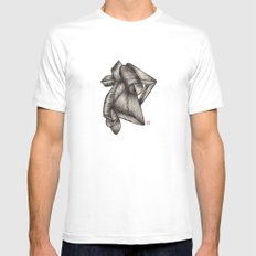 Paperoll White Mens Fitted Tee SMALL