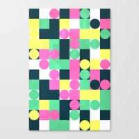 Circle Square Canvas Print