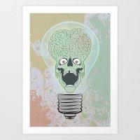 Think Martian  Art Print