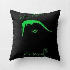 We Run This... Throw Pillow