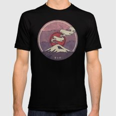Fuji SMALL Mens Fitted Tee Black