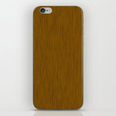 Abstract wood grain texture iPhone & iPod Skin