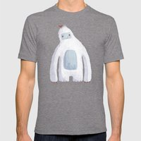 Yeti Mens Fitted Tee Tri-Grey SMALL