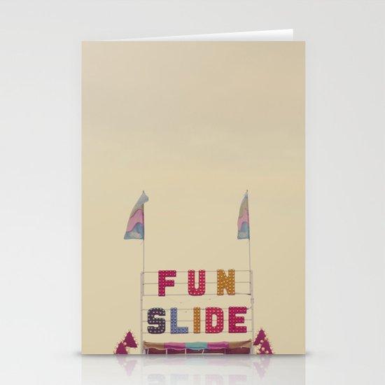 Fun Slide Stationery Card