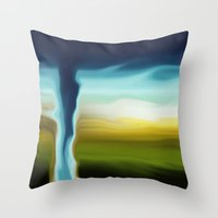 OMG A SMUDGE The Colors!… Throw Pillow