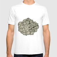 People Vs. Urban Living Mens Fitted Tee White SMALL