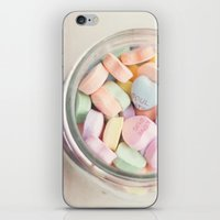 JAR OF LOVE iPhone & iPod Skin