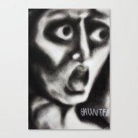 Chuck P Canvas Print