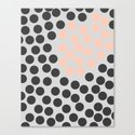 DOTTED PATTERN Canvas Print