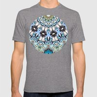 Melting Colors In Symmetry Mens Fitted Tee Tri-Grey SMALL