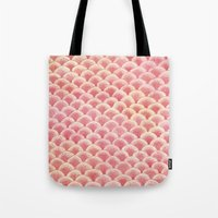 Coral Scales Tote Bag