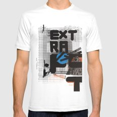 Extra-Fat Mens Fitted Tee White SMALL
