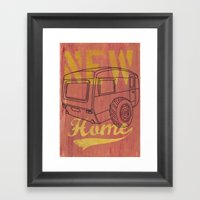 Nice New Home Framed Art Print