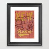 Nice New Home Framed Art Print