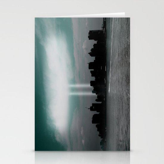 Renewal - New York City skyline Stationery Card