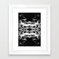 The Fall Of The Sky Framed Art Print