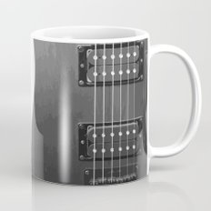 Black And White Guitar Mug