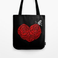 A Butterfly To Be, A Ros… Tote Bag