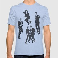 One Direction - Vintage Mens Fitted Tee Athletic Blue SMALL