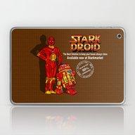 Parody Stark Droid For S… Laptop & iPad Skin