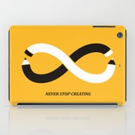 Never Stop Creating (the… iPad Case