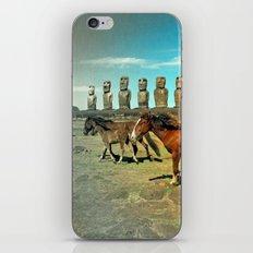 EASTER ISLAND SCENE iPhone & iPod Skin