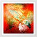 planet zv39 Art Print