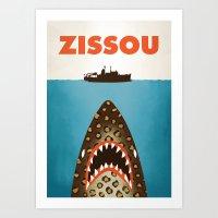 Zissou Art Print