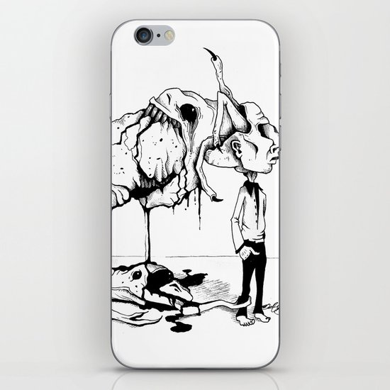 A Carnivore's Dream iPhone & iPod Skin