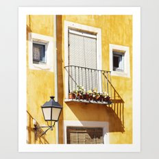 Spanish balcony Art Print
