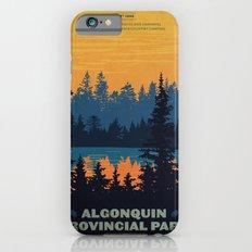Algonquin Park Poster iPhone 6 Slim Case
