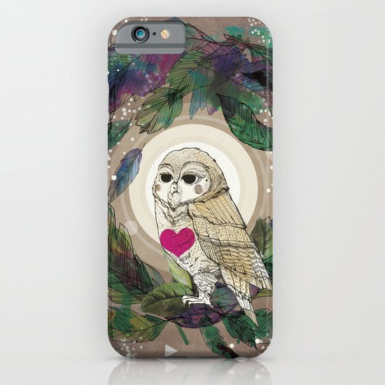 The Great Owl iPhone & iPod Case