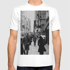 Forget it all Mens Fitted Tee SMALL White