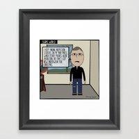 Eggim's World #1 Framed Art Print