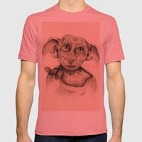 Free Elf Full Length Mens Fitted Tee Pomegranate SMALL
