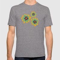 Flowers For Lola Mens Fitted Tee Tri-Grey SMALL