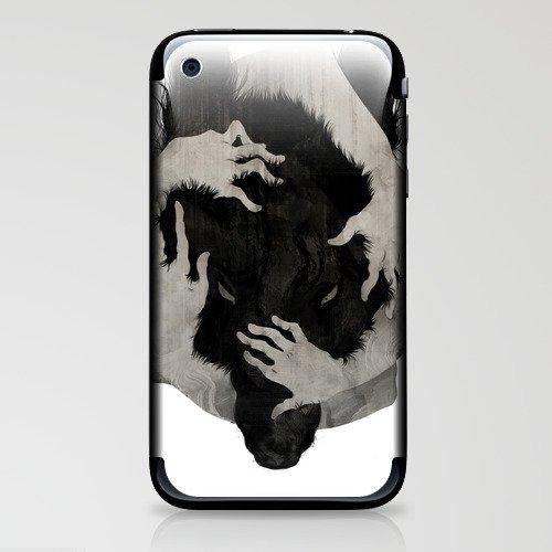 Wild Dog iPhone & iPod Skin