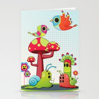Critter Romance Stationery Cards