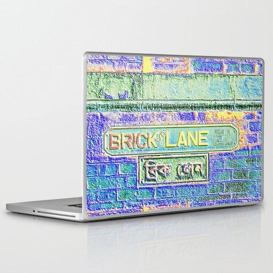 Brick Lane B Laptop & iPad Skin