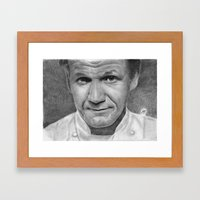 Gordon Ramsay Framed Art Print