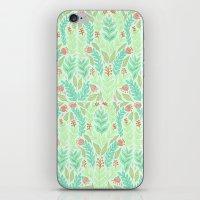 Tiny Flora iPhone & iPod Skin