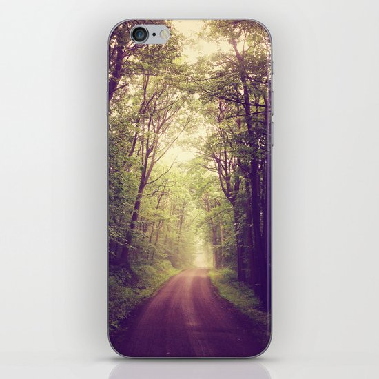 The Sound of Fog Coming Down iPhone & iPod Skin